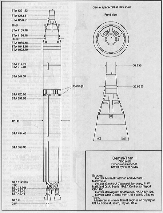 Titan II GLV (Gemini Launch Vehicle)