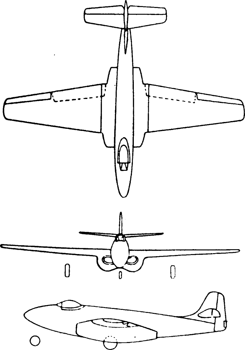 Encyclopedia Of Usaf Aircraft Missile Systems Post Wwii Fighters Schematic August 1958 American Modeler Airplanes And Rockets